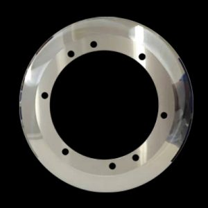 TCT round blade for corrugated paper roll cutting