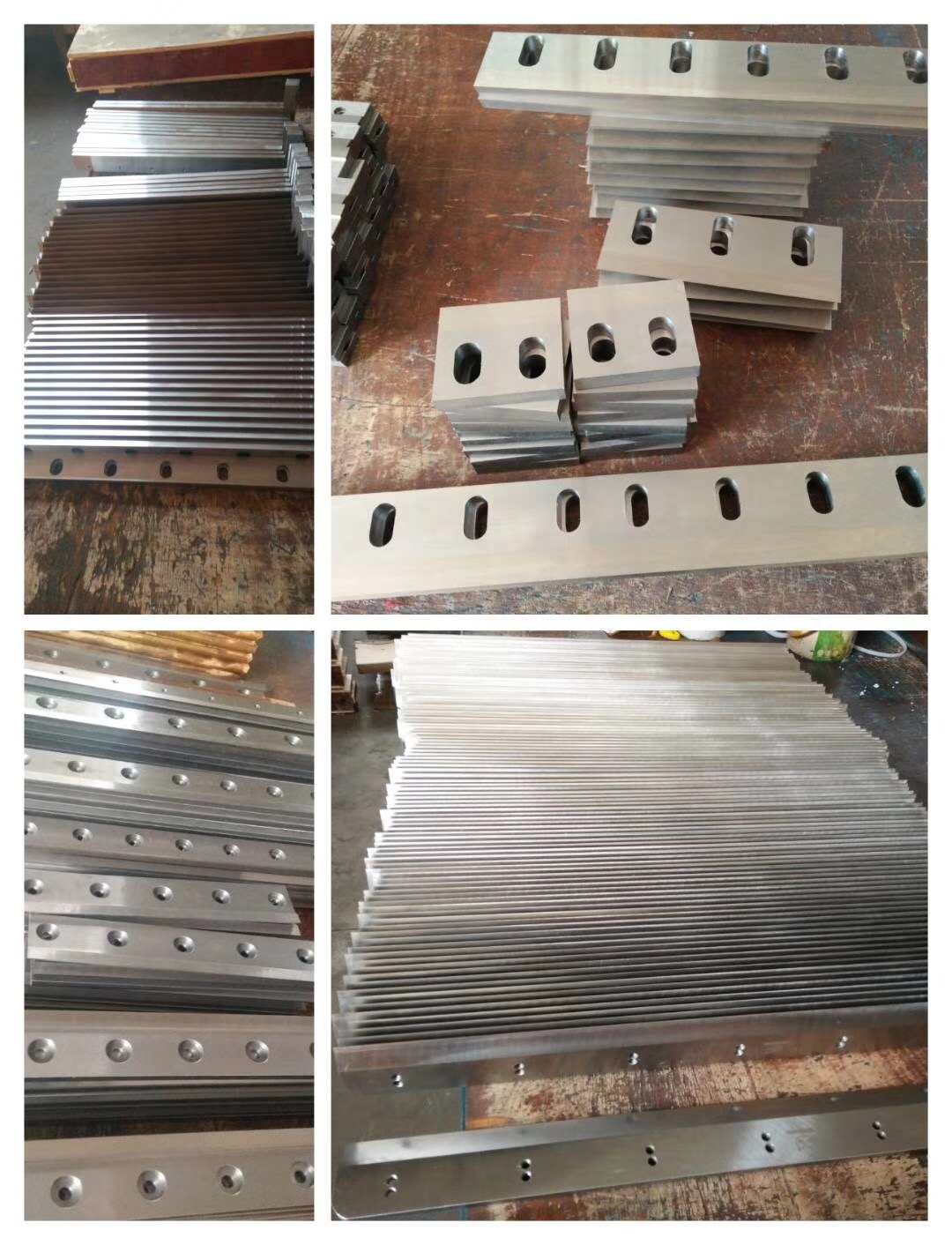 Straight Thicker Sheet Shearing Blade for Metal Industrial Processing