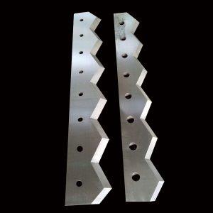 Single shaft plastic shredder fixed blade